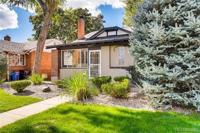 Denver Single Family Home Active: 2217 South Logan Street