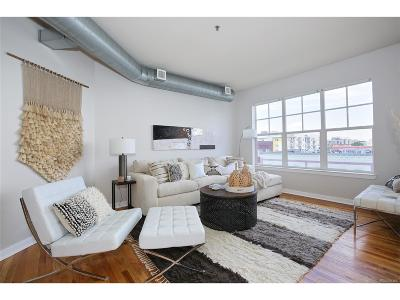 Denver Condo/Townhouse Active: 1441 Central Street #501