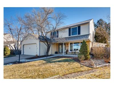 Centennial Single Family Home Under Contract: 5526 East Hinsdale Circle