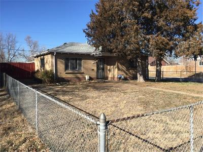 Denver Single Family Home Under Contract: 2261 Quebec Street