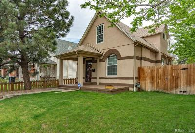Denver Single Family Home Active: 2511 West 38th Avenue