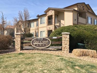 Littleton Condo/Townhouse Under Contract: 4747 South Balsam Way #23-202