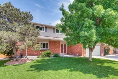 Centennial Single Family Home Under Contract: 7392 South Downing Circle