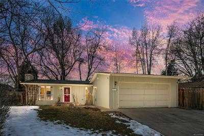 Niwot Single Family Home Under Contract: 7711 Nikau Drive