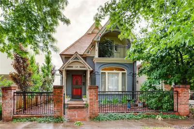 Denver Single Family Home Active: 1509 East 31st Avenue