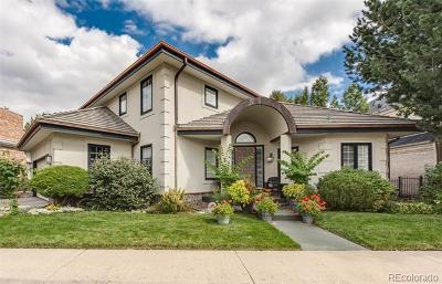 Denver Single Family Home Active: 400 South Steele Street #6