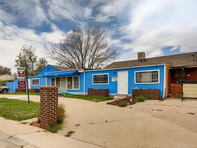 Denver Multi Family Home Active: 3545 Fairfax Street