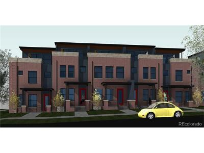 Cheeseman & Moffat, Cheeseman Park, Cheesman Park Condo/Townhouse Active: 1374 North Vine Street #Parcel 7