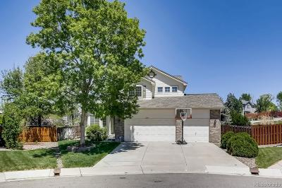 Centennial Single Family Home Active: 21831 East Powers Drive