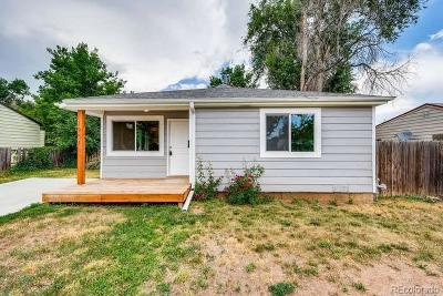 Denver Single Family Home Active: 1951 South King Street