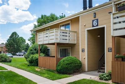 Wheat Ridge Condo/Townhouse Under Contract: 10251 West 44th Avenue #6-108