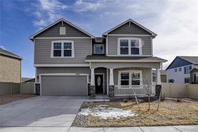 Colorado Springs Single Family Home Active: 8845 Vanderwood Road