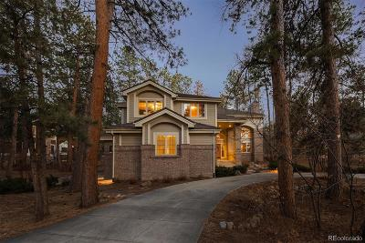 Castle Rock Single Family Home Under Contract: 467 Lorraway Drive