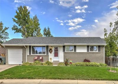 Northglenn Single Family Home Under Contract: 11272 Lafayette Street