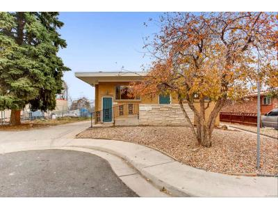 Arapahoe County Multi Family Home Under Contract: 5595 South Sherman Circle