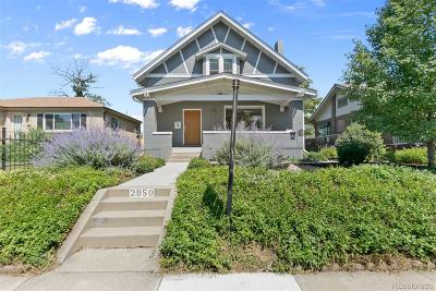 Denver Single Family Home Active: 2950 Bellaire Street