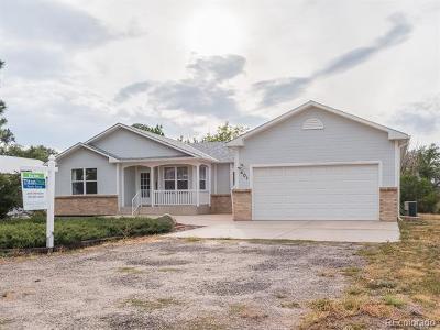 Simla CO Single Family Home Active: $275,000