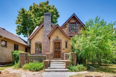 Denver Single Family Home Active: 2145 York Street