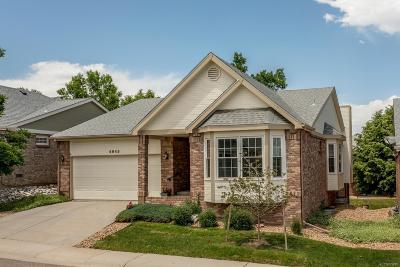 Highlands Ranch Single Family Home Active: 4945 Greenwich Lane