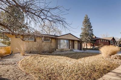 Centennial Single Family Home Active: 6549 South Clayton Street