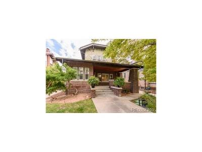 Denver Single Family Home Active: 770 Fillmore Street