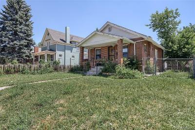 Denver Single Family Home Active: 2220 Osceola Street