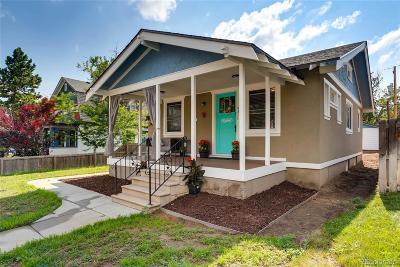 Denver Single Family Home Active: 4311 Clay Street