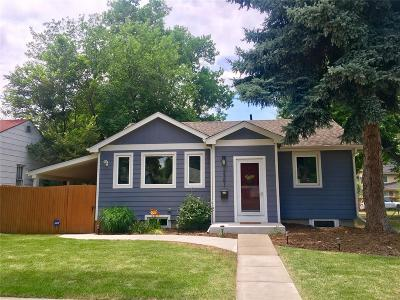 Single Family Home Under Contract: 2351 South Franklin Street