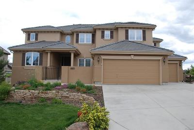Castle Pines CO Single Family Home Under Contract: $895,000