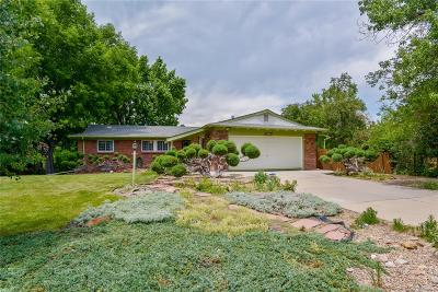 Wheat Ridge Single Family Home Under Contract: 10375 West 33rd Avenue