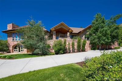 Castle Rock Single Family Home Active: 191 Country Club Drive