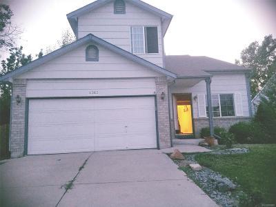 Centennial Single Family Home Active: 4363 South Halifax Street
