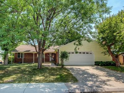 Littleton Single Family Home Active: 6220 South Lewis Street