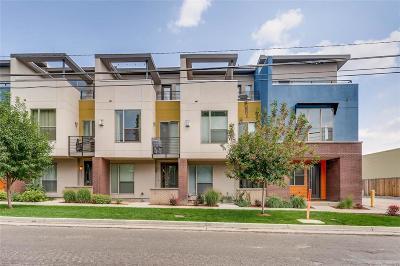 Denver Condo/Townhouse Active: 2100 Clay Street