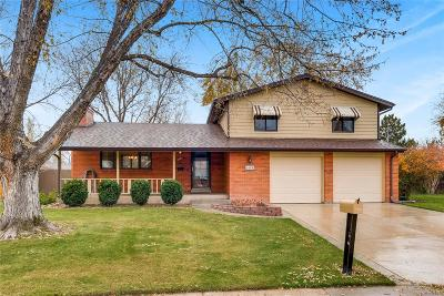 Littleton Single Family Home Under Contract: 6604 South Newland Circle