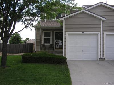 Fort Lupton Condo/Townhouse Active: 295 Ponderosa Place