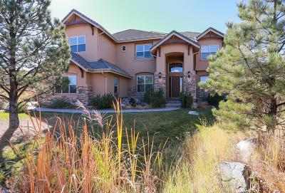 Castle Rock Single Family Home Under Contract: 6268 Shavano Peak Place
