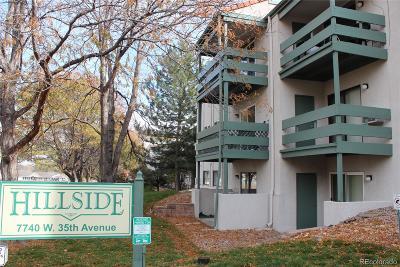 Wheat Ridge Condo/Townhouse Active: 7740 West 35th Avenue #206