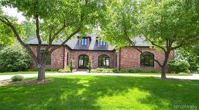 Cherry Hills Village Single Family Home Active: 30 Glenmoor Drive