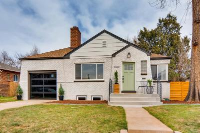 Denver Single Family Home Active: 3060 Monroe Street