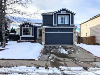 Castle Rock Single Family Home Under Contract: 327 Benton Street