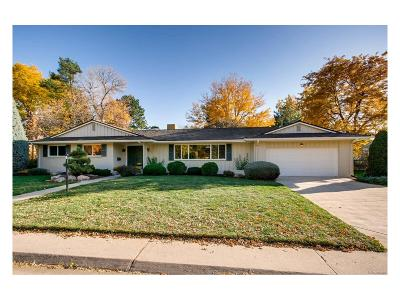 Denver Single Family Home Active: 5532 East Mansfield Avenue