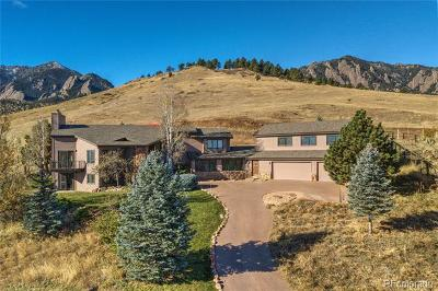 Boulder Single Family Home Active: 2100 Goddard Place