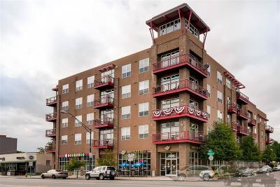 Denver Condo/Townhouse Active: 1488 Madison Street #206