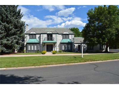 Cherry Hills Village Single Family Home Under Contract: 2 Cherrymoor Drive