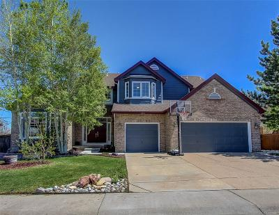 Highlands Ranch Single Family Home Under Contract: 10253 Knoll Circle