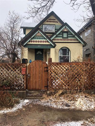Denver Single Family Home Active: 3851 Jason Street