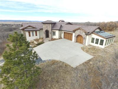 Castle Rock Single Family Home Active: 3946 Serenade Road