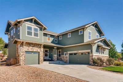 Castle Rock Single Family Home Active: 5292 Gould Circle
