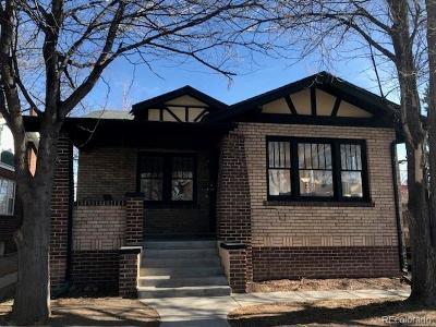 Denver Single Family Home Active: 1528 Harrison Street